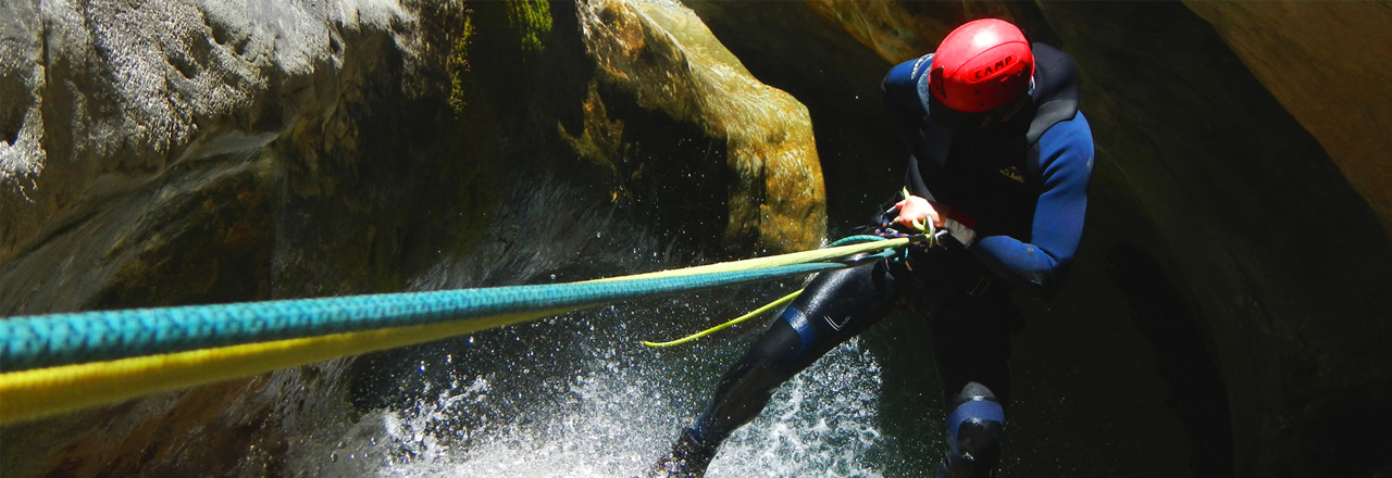 Canyoning Sierra de Guara - Fornocal canyon