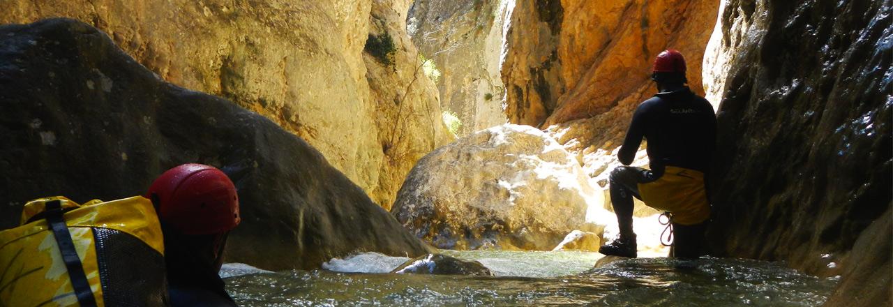 Oscuros del Balces Top Canyon Sierra de Guara