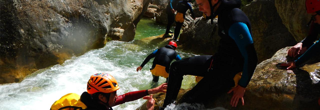 Canyoning Bierge Expediciones