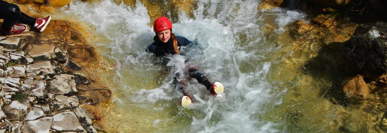 Canyoning et aventure pour adolescent en Espagne (Sierra de Guara)