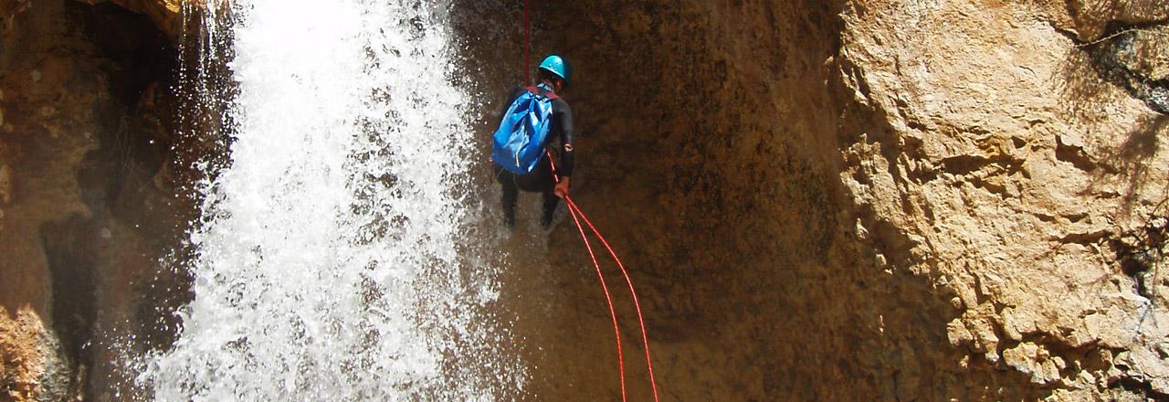 Barranquimo nivel normal o experto en Sierra de Guara