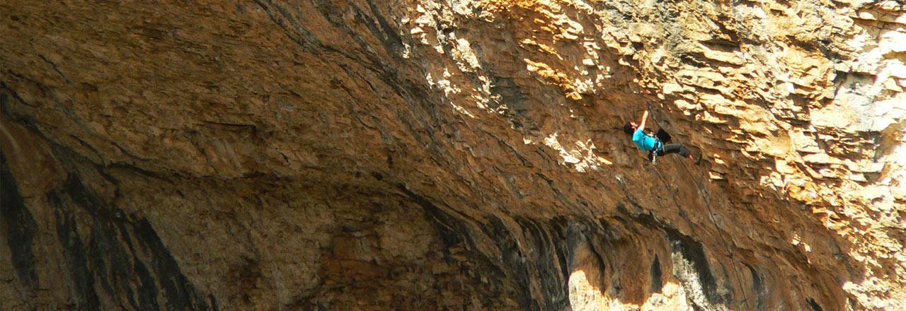 Escalada en Rodellar- Rock climbing en Rodellar - Escalade à Rodellar