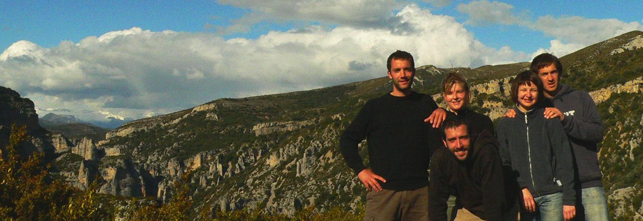 Senderismo en Sierra de Guara, Huesca, España