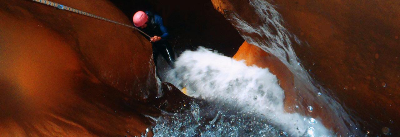 canyoning sportifs et experts en Sierra de Guara Huesca Espagne