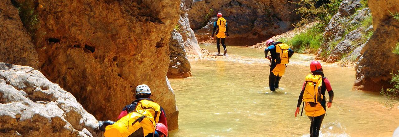 Canyoning & aventura - Sierra de Guara