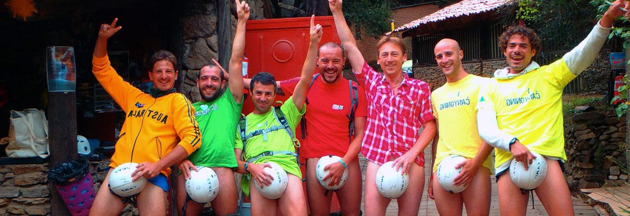 Aventure et canyoning avec les guides Expediciones