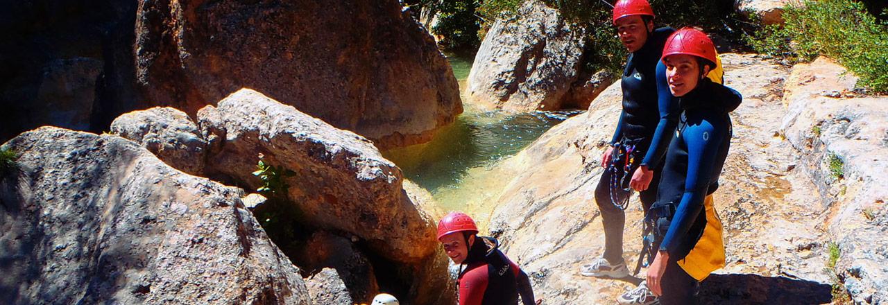semaine de canyons en Sierra de Guara Espagne