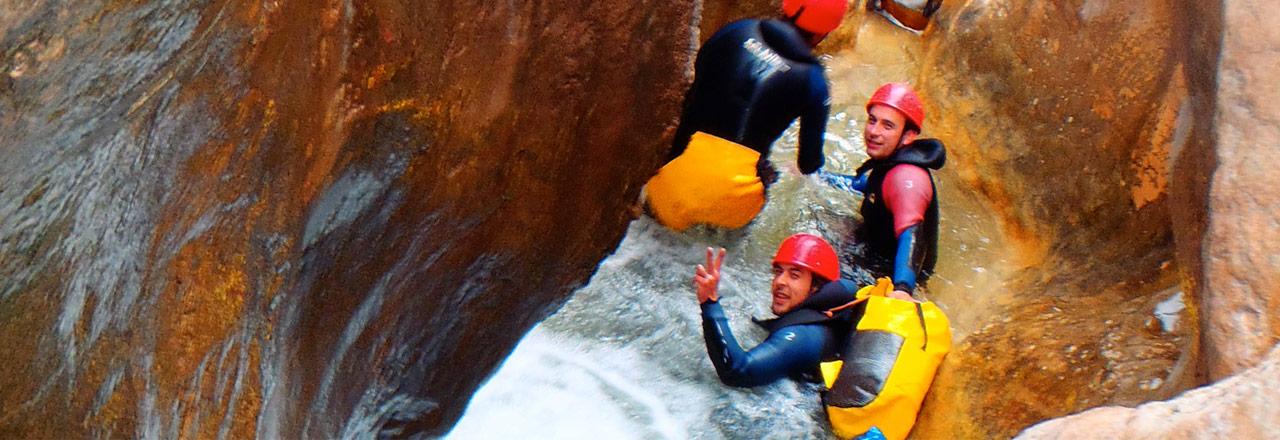 Stages sportifs et camps entrainement aventures pour clubs de sport et équipes en Espagne (Sierra de Guara)