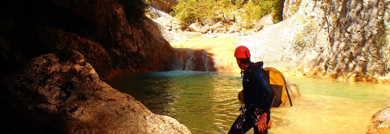 Semana de Barranquismo en Sierra de Guara con los guias de Expediciones