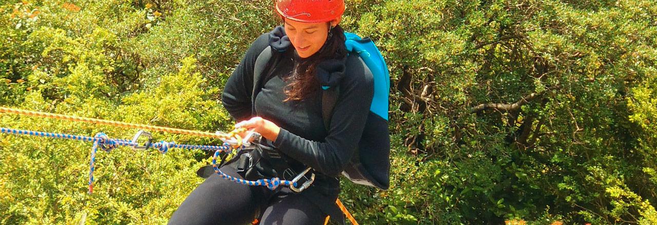 découverte du rappel en Sierra de Guara