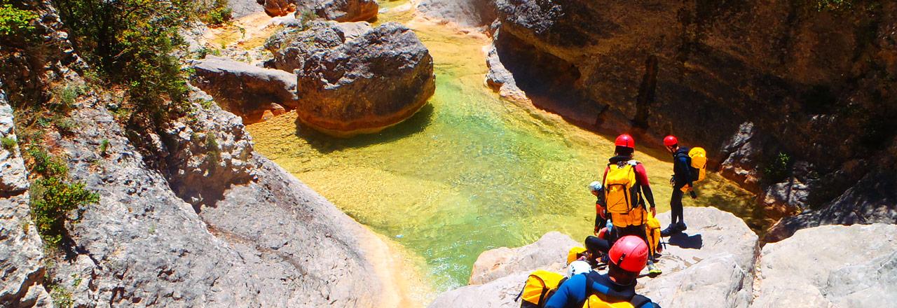 Descente de canyon en Sierra de Guara - Espagne - Expediciones