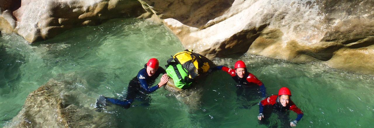 canyoning avec bivouac en Espagne
