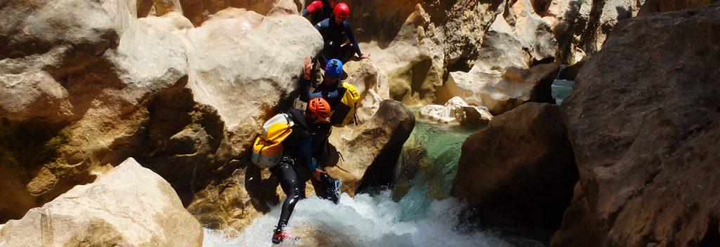 Canyoning Sierra de Guara Huesca Aragon