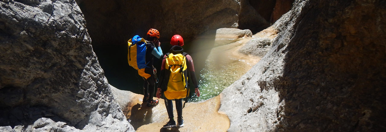 Adventure & Canyoning holiday in Sierra de Guara - Spain