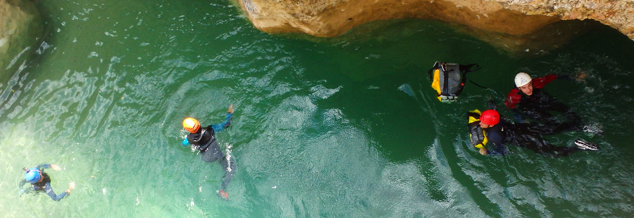 adventure holidays & canyoning week in Spain