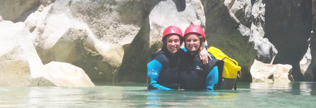 Journée dans un canyon de Sierra de GUara