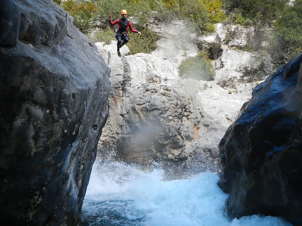 Canyoning superior Sierra de Guara