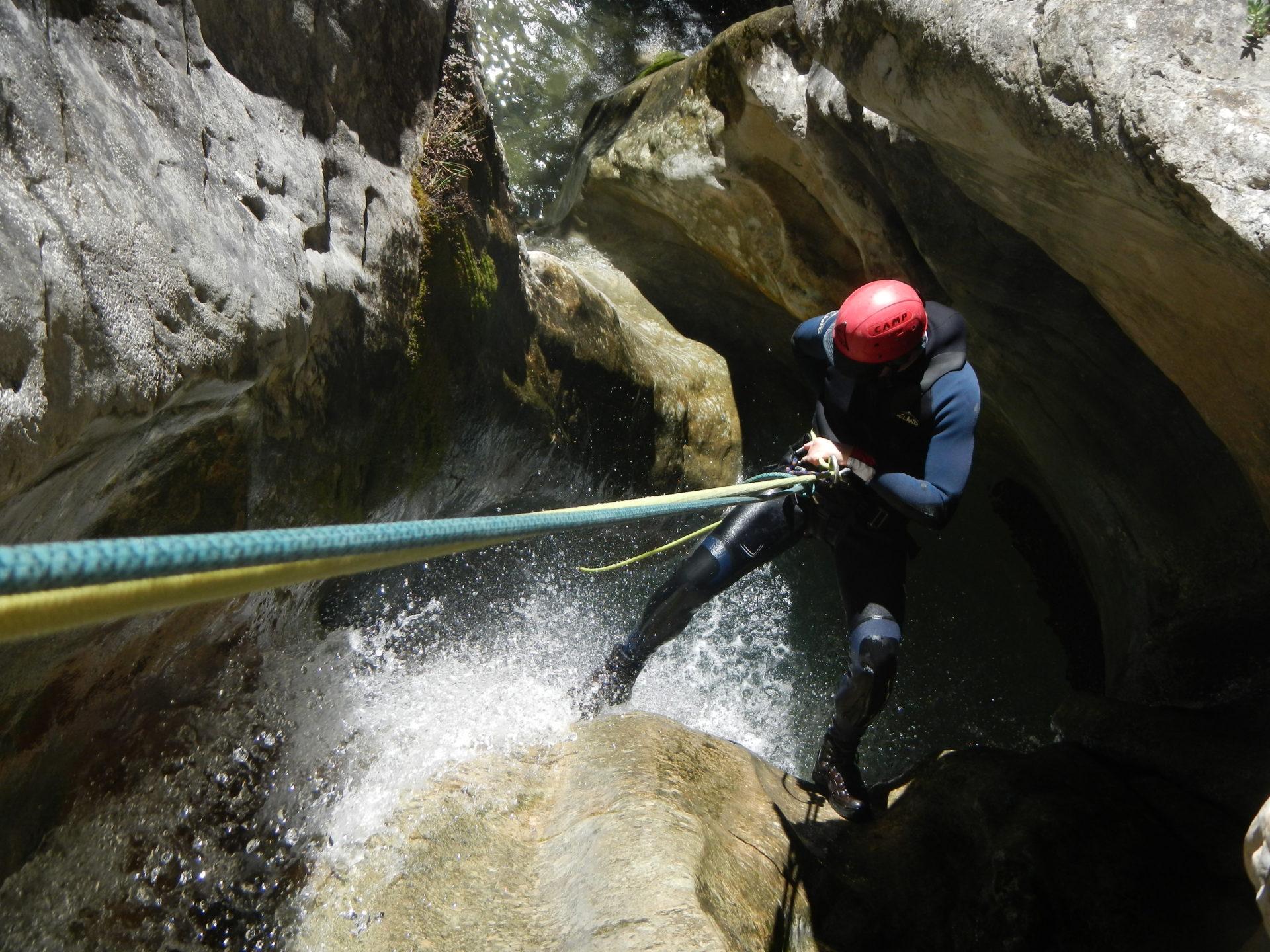 canyoning-fornocal-Sierra-Guara