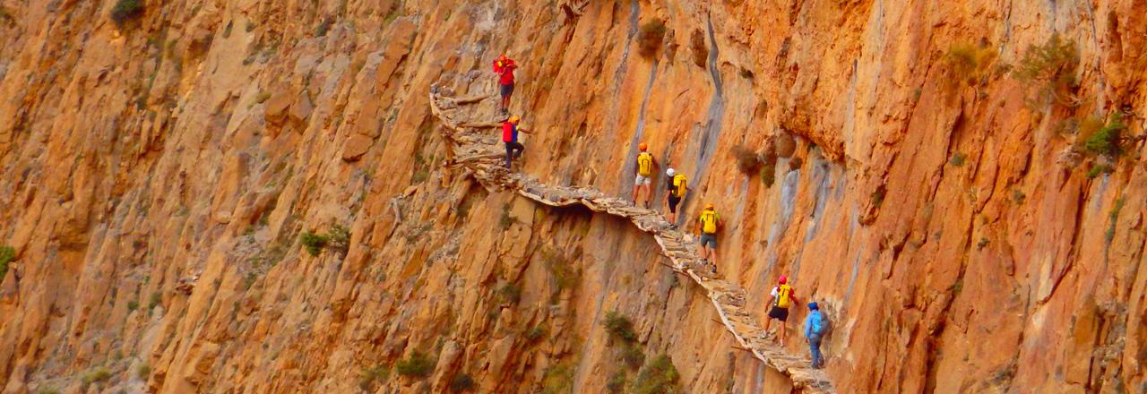 Pont berbère séjour canyoning Maroc avec Expediciones-sc.es