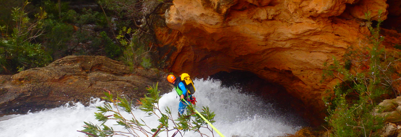 Canyoning in the Pyrenes