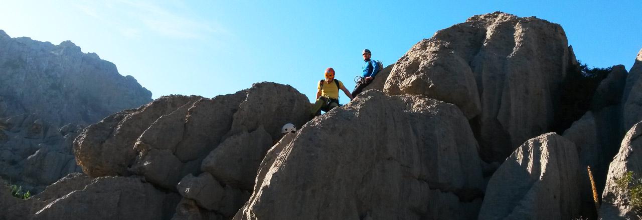 Viaje de barranquismo en Mallorca y baleares - España con Expediciones-sc.es