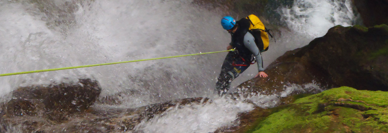 Canyoning trip in Mallorca and Balears Islands