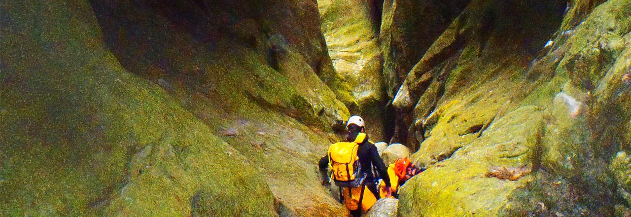 Canyoning en Mallorca - Sa Fosca Gorg Blau- Spain