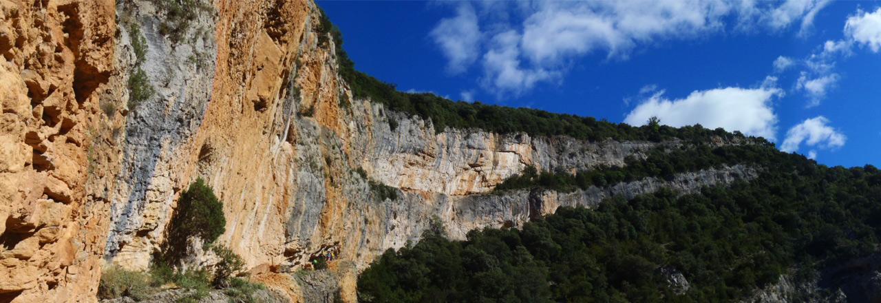 Como llegar y el tiempo en Sierra de Guara - Huesca - Aragon - España