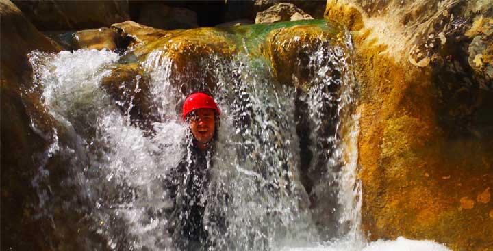 Albums de photos et vidéos de canyoning avec Expediciones