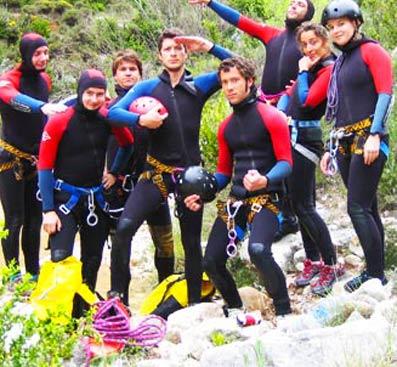 Pack outdoor activities, teambuilding activities in Spain in Sierra de Guara