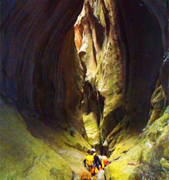 Canyoning trip in Majorca with Expediciones-sc.es