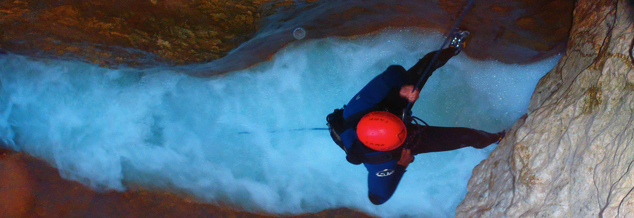 Week-end canyoning en Sierra de Guara avec Expediciones
