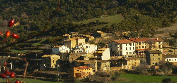Las Almunias de Rodellar, village de Sierra de Guara (Huesca-Aragon-Espagne)