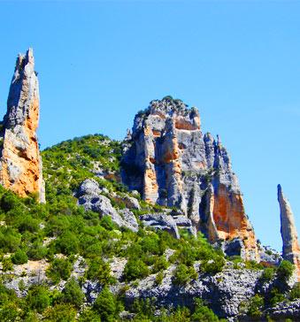 Voir info sur le parc naturel de la Sierra et des canyons de Guara