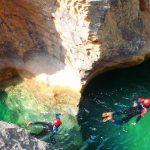 Canyoning le long de l'Alcanadre et de ses affluents