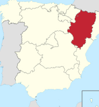 Pyrenees, Huesca, Aragon and Spain